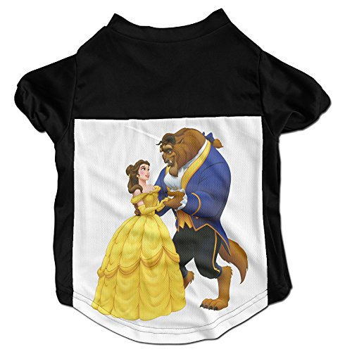 PGxln Pet Dog Doggy Cat Puppy Tshirts Beauty And The Beast Dog Puppy Size M Color (Beauty And The Beast Dog Costumes)