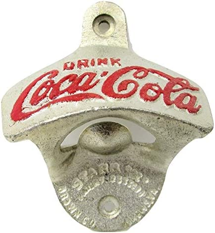 Old Vintage Antique style Coca Cola brass Collectable Coke Bottle Opener 3 3//8