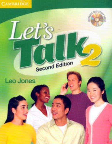 (Let's Talk, Level 2 Student's Book with Self-study Audio CD)