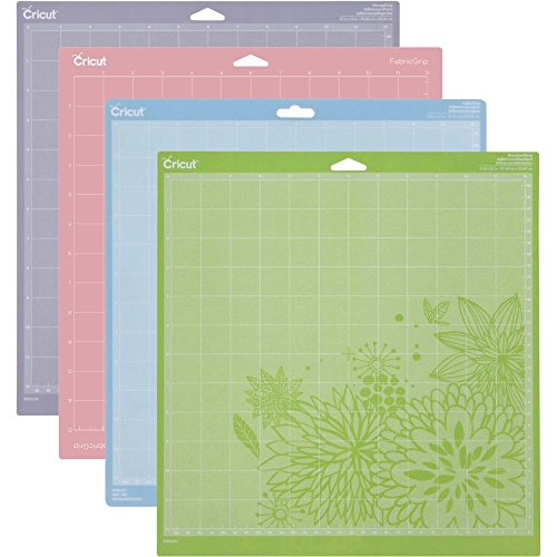 Cricut Cutting Mat Variety 4 Pack , 12 in. x 12 in by Cricut Creative labs