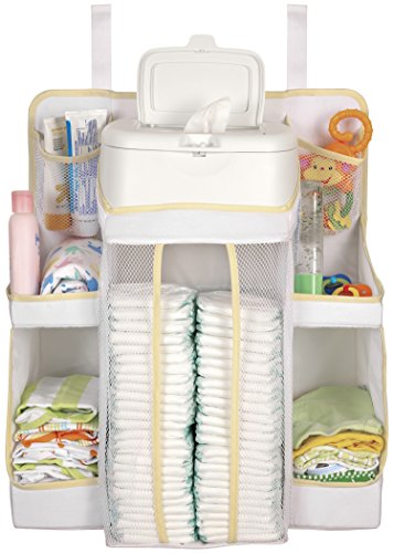 Hiccapop Nursery Organizer And Baby Diaper Caddy Hanging