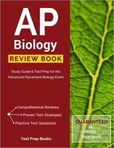 AP Biology Review Book Study Guide Test Prep For The Advanced Placement Exam