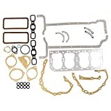 8N6008M New Ford Tractor 2N 8N 9N Engine Overhaul Gasket Set w/ Metal Head Gskt