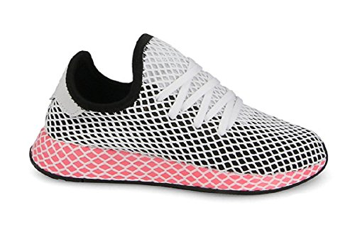 adidas Womens Deerupt Runner Originals Running Shoe Black 1lRM1vrf