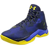 Under Armour Men's UA Curry 2.5 Team Royal/Midnight Navy/Taxi Sneaker 13 D (M)