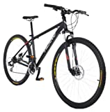 Vilano Blackjack 29er Mountain Bike with 29-Inch Wheels, Black, 17-Inch