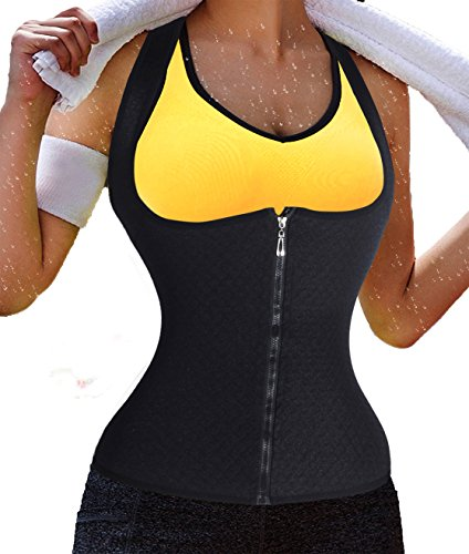 Ursexyly Waist Cincher Hot Sweat Shapers Sauna Suit Body Suit For Women as Seen On TV Shapewear Firm Control Natural Hourglass Waist Small Waist Perfect Body Thin Tummy (2XL, - B Seen Glasses