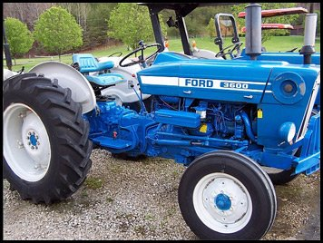 Ford Tractor 3600 Decal