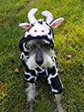 Dog Cow Bull Costume Pet Cow Costume