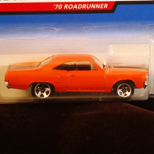 Classic Car Collectors - Hot Wheels 1998 First Editions - 1:64 Die-Cast 1970 Roadrunner (#17 of 40 cars) - Collector #661