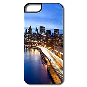 For Ipod Touch 4 Phone Case Cover Manhattan By Night For Ipod Touch 4 Phone Case Cover - White/black Hard Plastic