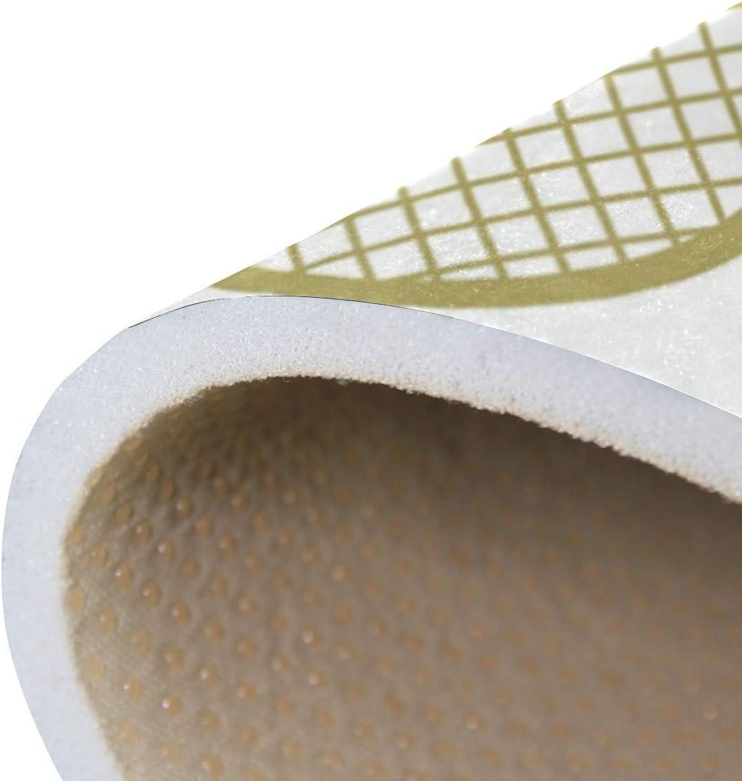 Tapis Raquette de Tennis de Bande dessin/ée de 63x48 Pouces