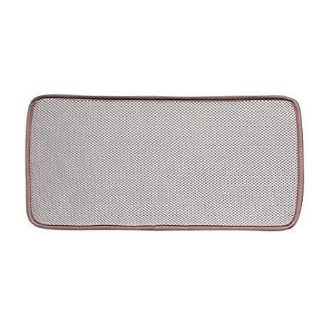 Amazon.com: eforcurtain Solid Plato de microfibra secado ...