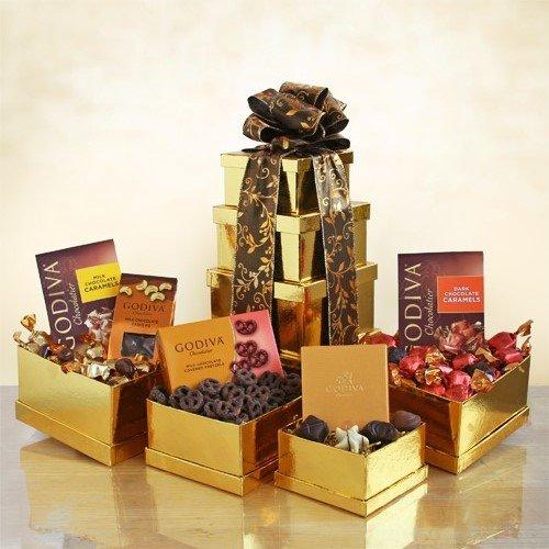 Golden Godiva Gift Tower ()