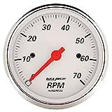 Auto Meter 1398 Arctic White Electric Tachometer