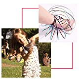 Cosweet 4 Packs Magic Flow Ring, Kinetic Arm