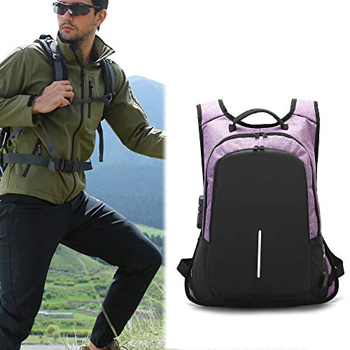 Voyage Hommes Portable Pour Femmes D'Affaires Luxe À Imperméables À Antivol Dos Ordinateur Grand Purple Dos Dayback Hommes Sac VHVCX Sac Sac x7F64wfqq