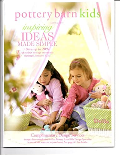 Pottery Barn Kids Catalog Spring 2011 Furniture Home Decor