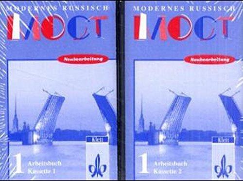 Most - Modernes Russisch, Neubearbeitung, 2 Cassetten zum Arbeitsbuch