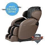 Space-Saving Zero-Gravity L-track Full-Body Kahuna Massage Chair...