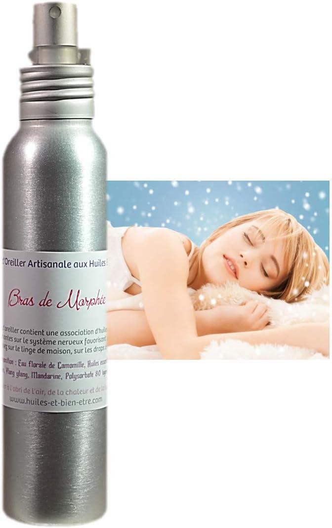Aceiles et Bienen-être 5060593412418 - Bruma de Almohada Artesanal con aceites Esenciales para Brazo de morfeo, 100 ml, Color
