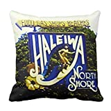 Zazzle Hawaii North Shore American Mojo Pillow 16'' x 16''