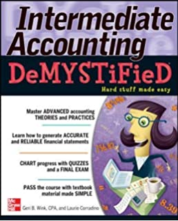 Amazon accounting demystified a self teaching guide intermediate accounting demystified fandeluxe Choice Image