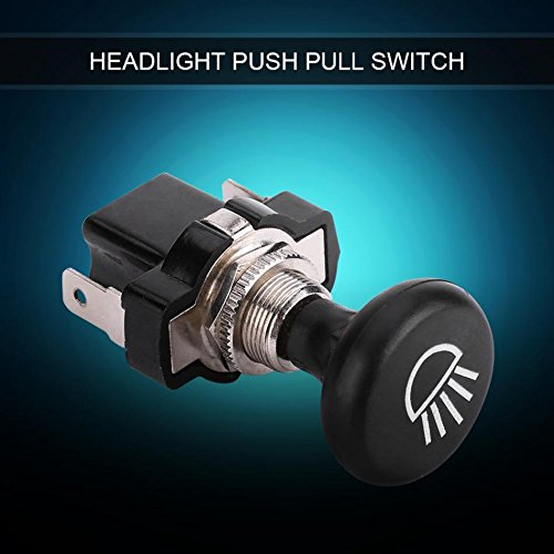 Daphot-Store - 12V Car Headlight Push Pull Light Switch for Golf Cart EZGO Club Car for Yamaha New Arrival by Daphot★Store