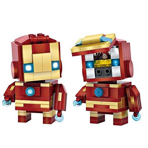 LOZ Diamond Block Brick 'H'eadz - Super Hero - 1402