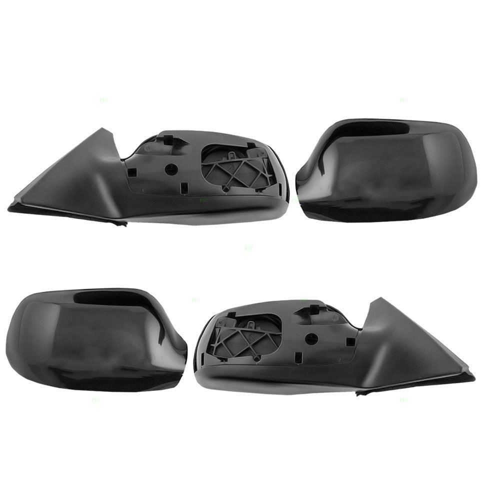 Driver and Passenger Power Side View Mirrors Smooth Replacement for Mazda 6 Mazda6 GK2A6918ZBB GK2A6912ZBB AutoAndArt