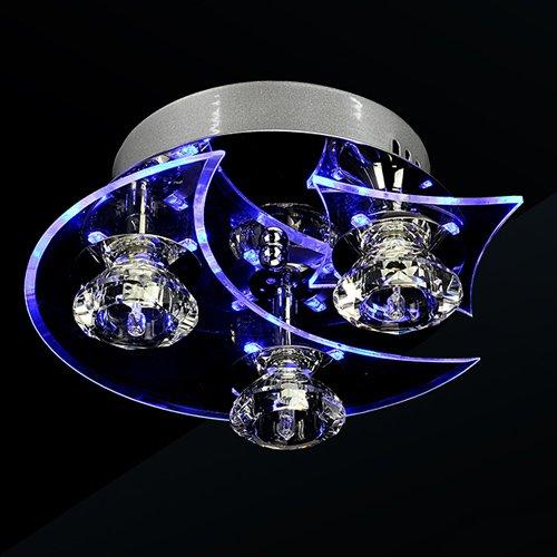Lightinthebox Chandelier Modern LED Crystal Living 3 Lights 20W ...