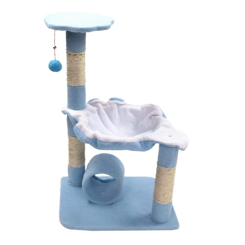 C Hexiansheng Cat Climb Trees Medium-sized pet cat Toy cat Tree Platform grab plate grab Board furniture 45  37  71cm