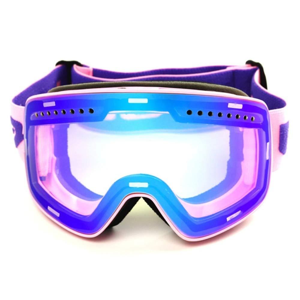 PZXY Skibrille Zylindrische magnetische Anziehungskraft Anziehungskraft Anziehungskraft im Freienskibrille großes Feld Antifogging Schnee im Freien Skispiegel B07M7ZFQBM Skibrillen Hervorragender Stil 02b3d2