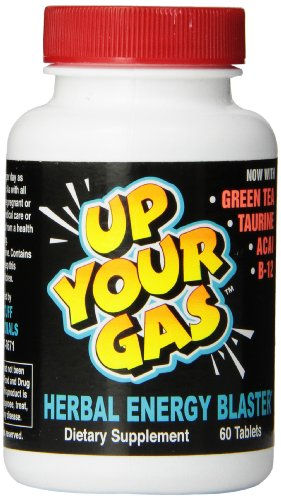 UP YOUR GAS Herbal Energy Blaster Tablets, 60 Count