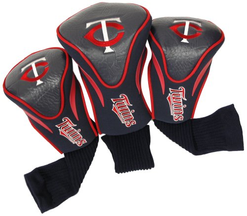 - Team Golf MLB Minnesota Twins Contour Golf Club Headcovers (3 Count), Numbered 1, 3, & X, Fits Oversized Drivers, Utility, Rescue & Fairway Clubs, Velour lined for Extra Club Protection