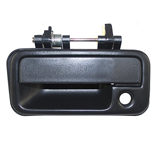 Drivers Front Outside Exterior Black Door Handle Replacement for Isuzu Amigo & Pickup Truck 8-94434-974-1