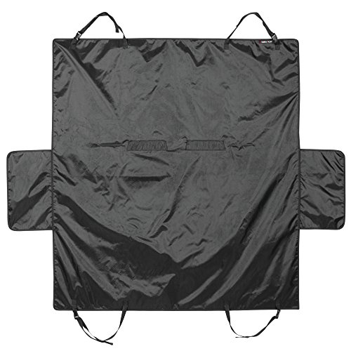 (Swiss+Tech ST80260 Pet Car Seat Protector Cover for Dogs, Cats, Travel - Black)