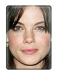 High Impact Dirt/shock Proof Case Cover For Ipad Air (michelle Monaghan 6 Face Head Smile Eyes Lips Black Hair Mission Impossible People Women) by icecream design