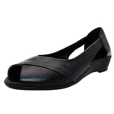 Uirend Bout Compensé Chaussures Femme Escarpins Sandales Talon DH9W2IE
