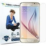 Galaxy S6 Screen Protector, Tech Armor Anti-Glare/Anti-Fingerprint Sasmsung Galaxy S6 Film Screen Protector [3-Pack]
