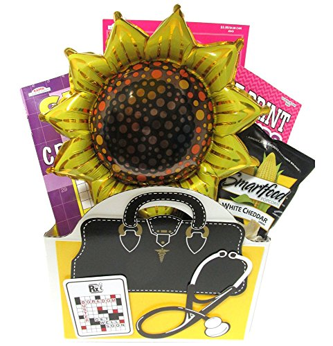 Womens Get Well Gift A Cheerful Alternative To Flower Bouquets with Puzzle Books by Gifts Fulfilled