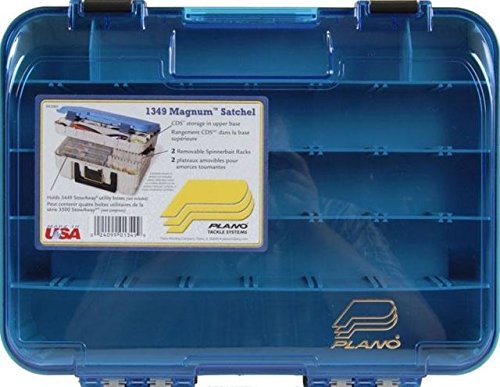 Plano 1349-00 Two Level Magnum 3449 Tackle Box