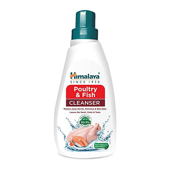 Himalaya Poultry & Fish Cleanser 500ml (pack of 2)