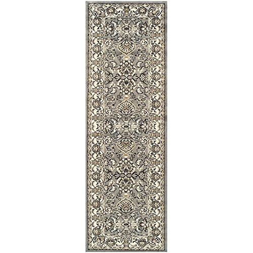 Superior Lille 2.6 ft. x 8 ft. Area Rug, Contemporary Living Room & Bedroom Area Rug, Anti-Static and Water-Repellent for Residential or Commercial Use, 2.6-feet By 8-feet Review