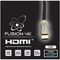 Fusion4K High Speed 4K HDMI Cable - Professional Series (25 Feet)