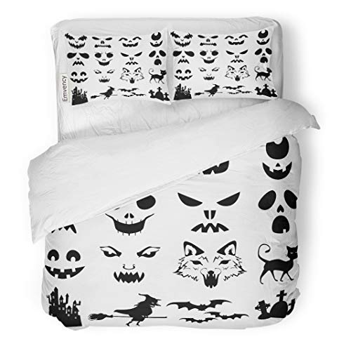 Tarolo Bedding Duvet Cover Set Face of Halloween