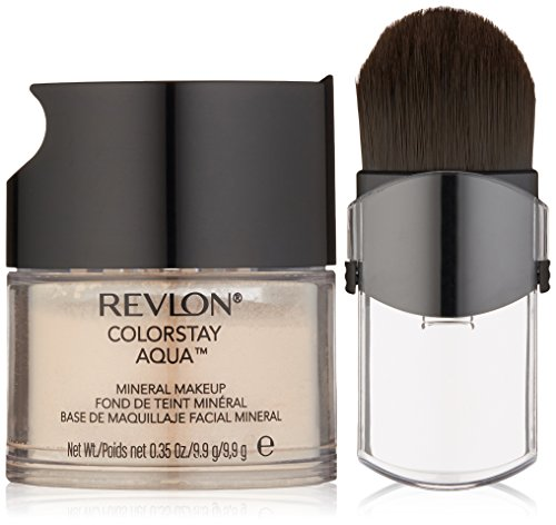 Revlon Makeup Mineral (Revlon ColorStay Aqua Mineral Makeup, Light Medium, 0.35 Ounce)