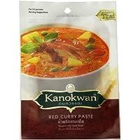 Kanokwan咖喱皇牌红咖喱酱50g(泰国进口)