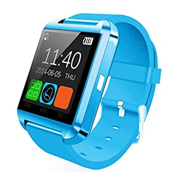 Erduo U8 Bluetooth Reloj Inteligente Pasómetro Altímetro Reproductor de Música Reloj de Control Remoto Fotografía Reloj