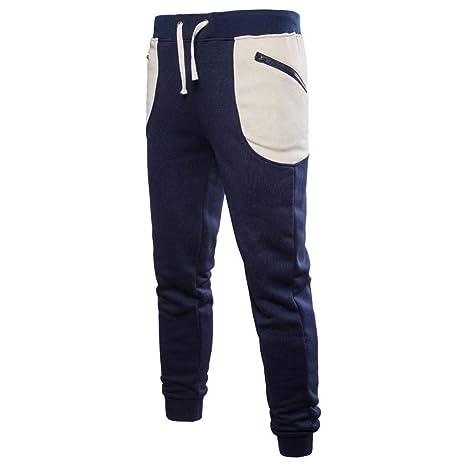 Saihui_Men Pants Pantalones de chándal para Hombre, Ajustados ...